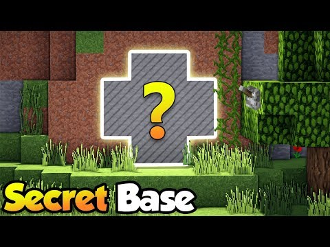 MINECRAFT: BEST SECRET BASE / DOOR Tutorial #3 How to Build a Hidden House