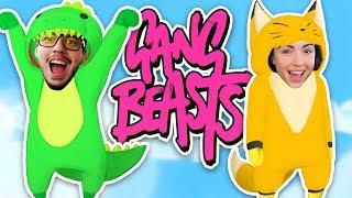 ULTIMATE BOYFRIEND vs GIRLFRIEND BATTLE!! (Gang Beasts)