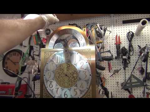 How to Disassemble a Grandfather Clock   part 2a of 4