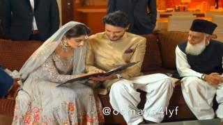 Osman Khalid Butt & Maya Ali|Osmaya||Harib & Aan|Aarib - Hua Hai Aaj Pehli Baar 💫