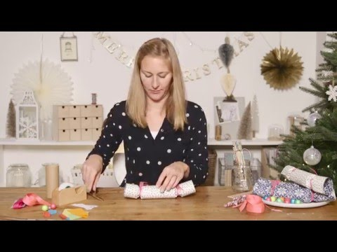 Housetohome Christmas: How to make Christmas crackers