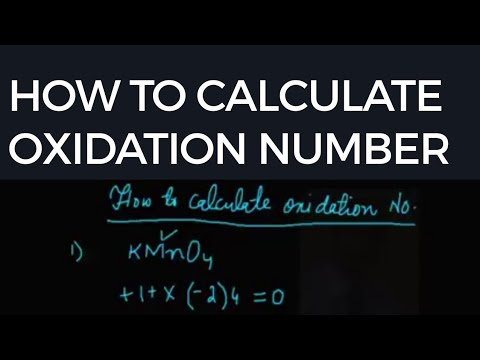 how to calculate oxidation number of an element in hindi urdu