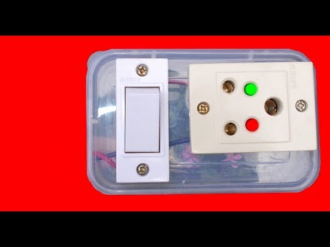 How To Make Indicative Electric Extension Board || With Indicator LED