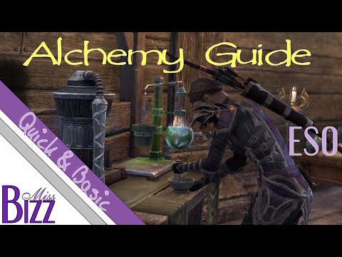 ESO Alchemy Guide - Quick & Basic - How to craft potions in Elder Scrolls Online