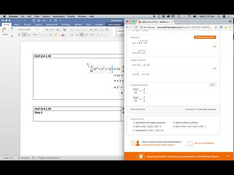 Intern Lesson 3: WolframAlpha and Microsoft Word why Word is far superior