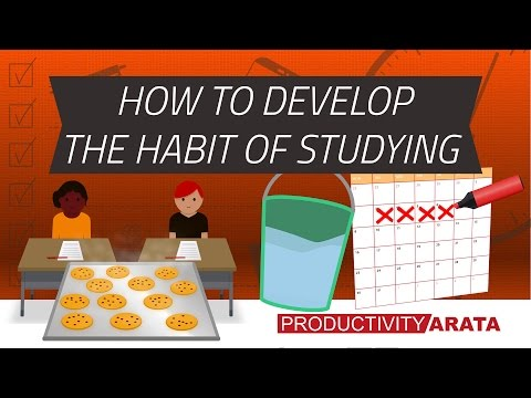 How to develop the habit of studying every day | Productivity Arata 21