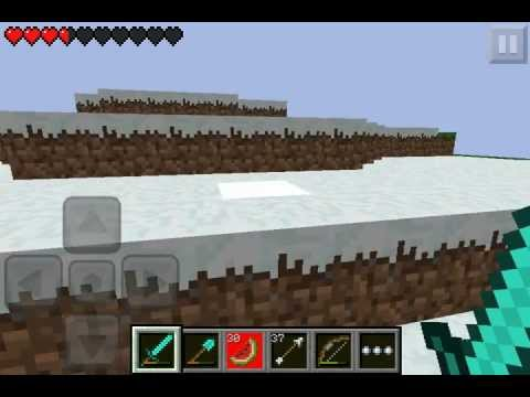 how to throw snowballs in minecraft pe