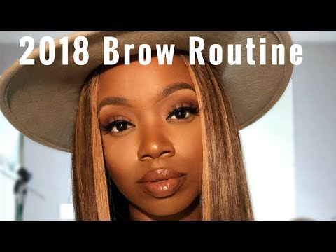 2018 Bangin Baddie Brows Tutorial