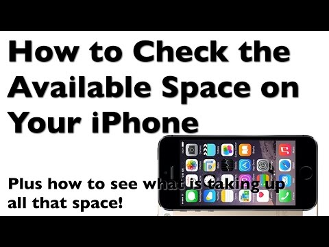 How to Check Available Space on Your iPhone and See What is Taking Up the Most Space
