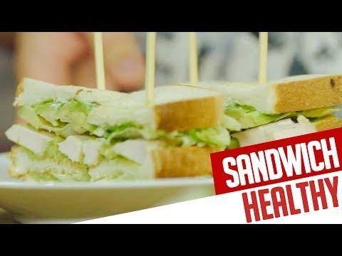 Club-Sandwich HEALTHY - RECETTE CHEF VALENTIN