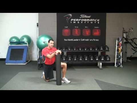 Golf Fitness Hamstring Flexibility Exercise
