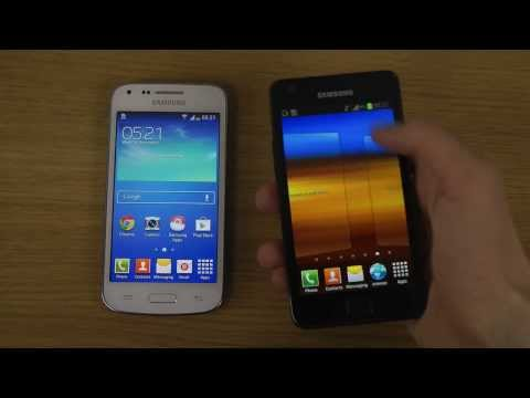 Samsung Galaxy Core Plus vs. Samsung Galaxy S2 - Which Is Faster?