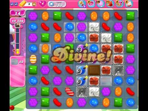 Candy Crush Level 763 (no boosters, 3 stars)