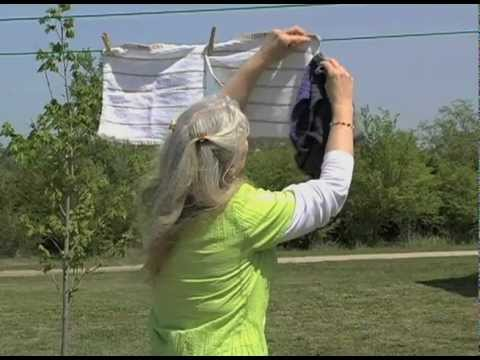 How To Hang Clothes On A Clothesline