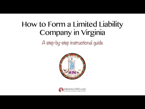 How to Form an LLC in Virginia