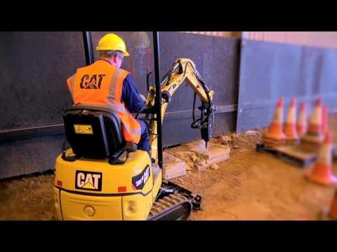 Cat® Mini Excavators Working in Various Applications
