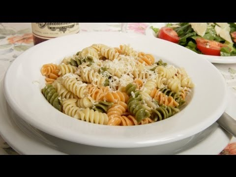 Pasta with Butter & Cheese (Med Diet Episode 82)
