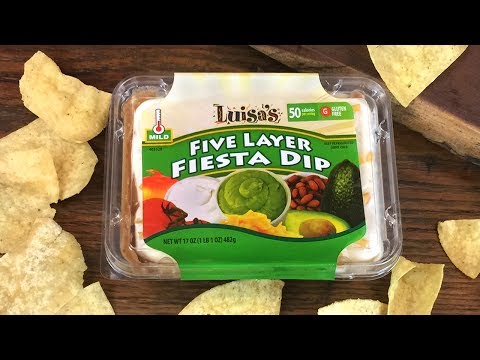 Luisa's Party Ready Five Layer Dip