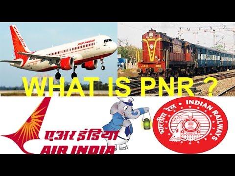 Secret of PNR number on Train or Plane Ticket