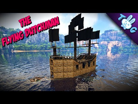ARK: PLESI PIRATE SHIP🏴‍☠️ [FLYING DUTCHMAN][LETS BUILD]
