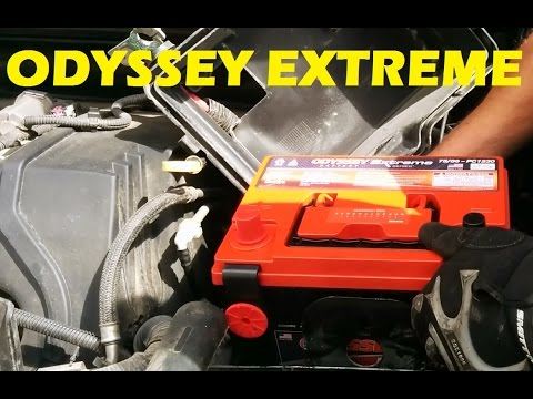 How to Replace Battery on Hummer H3, Chevrolet Colorado, GMC Canyon - ODYSSEY EXTREME Battery