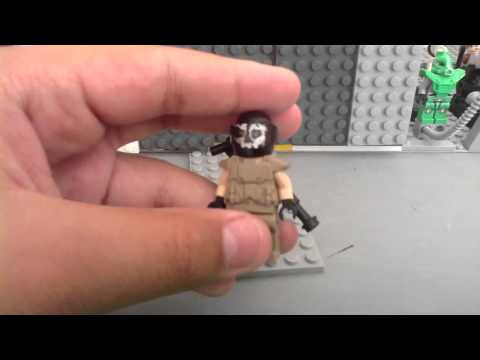 Lego call of duty ghosts character