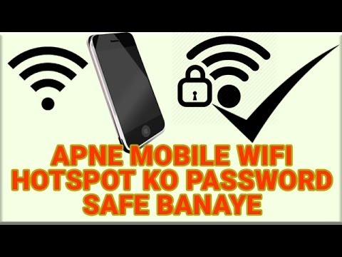 How To Set up Mobile Hotspot Password