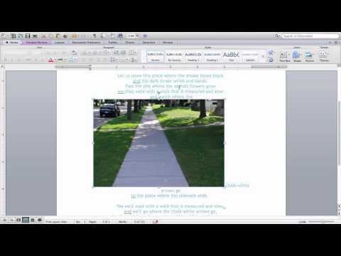 Basic Formatting in Microsoft Word 4th Grade