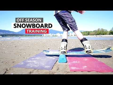 Off Season Snowboard Training - Gear & Tricks