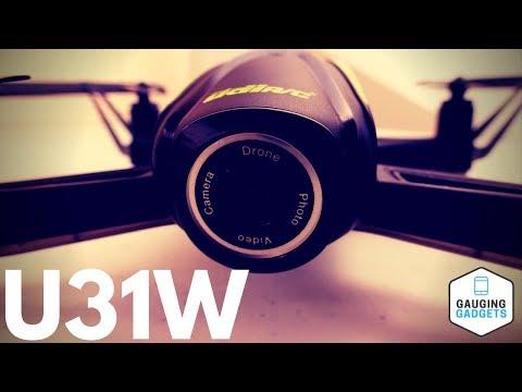 DROCON U31W Navigator Drone Review  - Altitude Holding Beginner Quadcopter