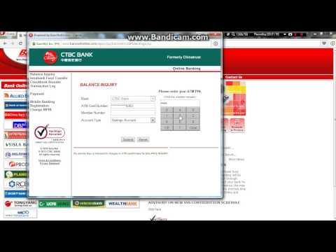GPRS Visacard Balance Inquiry