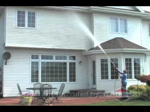 Briggs & Stratton - Clean Your Siding with a Pressure Washer