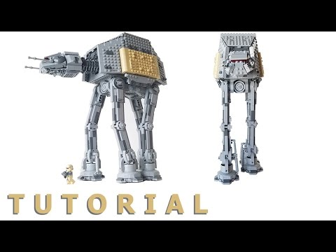 Lego Rogue One AT-ACT Walker MOC (Subscriber's Request)