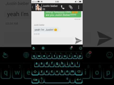 Justin Bieber love all beliebers 😇