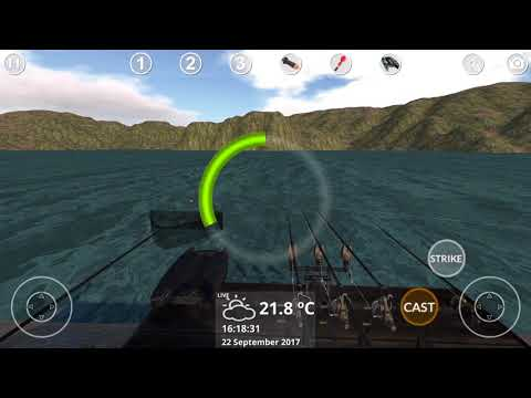 Carp Fishing Simulator | How to catch a big catfish in Carp Fishing Simulator? 😱