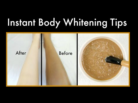 Instant Body Whitening with Licorice | 100% Works