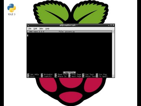 Raspberry Pi - Getting Started - Linux basics and Installing Software...