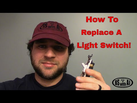 How To Change A Standard Light Switch