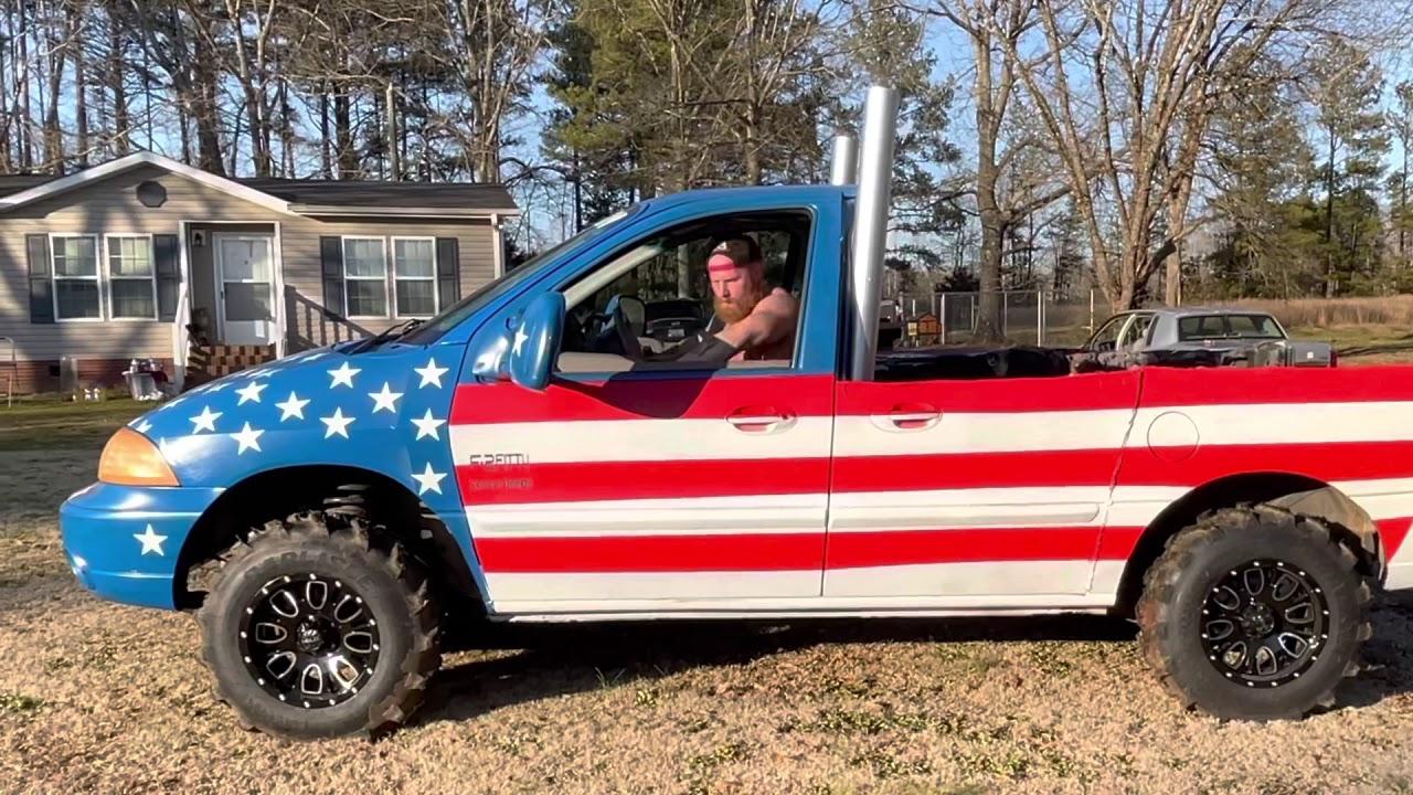 Let freedom roll! The BADDEST truck in Merica!   (Truck gang)