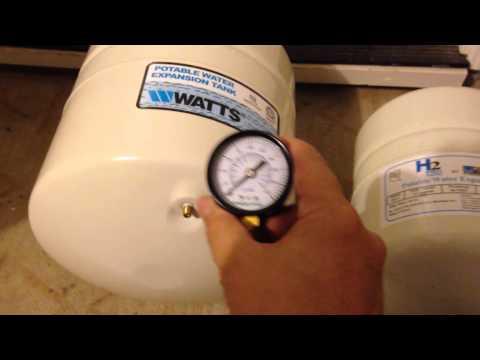 Water Heater Expansion Tank Installation - Watts 4.5 Gallon