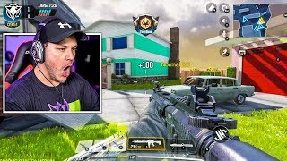 First Time Playing Call Of Duty Mobile...And I Cheat?!