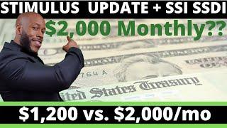 Second Stimulus Check Update! SSI + SSDI + PUA Enhanced Unemployment Insurance Benefits