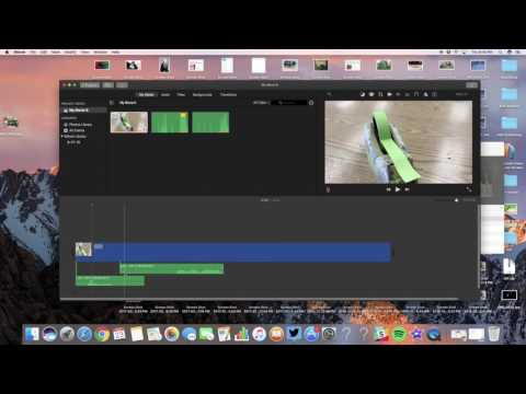 How to Trim a Clip in iMovie