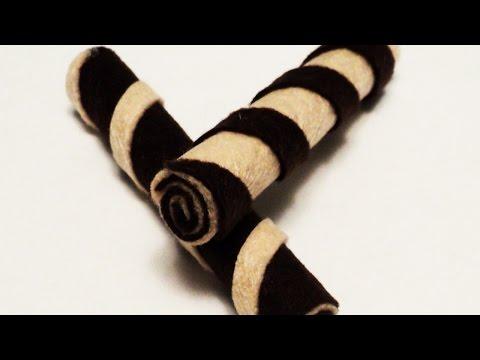 Make Delicious Chocolate Wafer Felt Rolls - DIY Crafts - Guidecentral