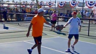 USAPA Nationals 2016 35  MD 1/2 Finals Game 1 Dave Weinbach/Enrique Ruiz v Brian Staub/Rob Elliott