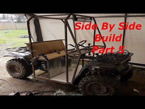 2 Seater Go Kart Built From ATV Part 5