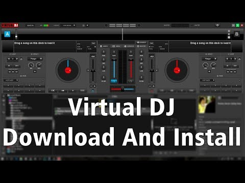 How To Free Download & Install Virtual DJ 8 On Window | हिंदी