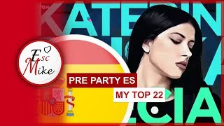 Download Eurovision 2019 PRE PARTY ES MADRID - MY TOP 22