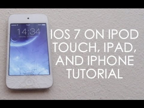 How To Get IOS 7 Theme (No Jailbreak Or Computer)