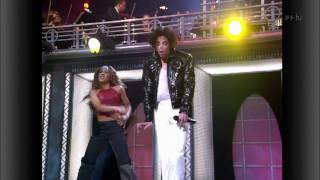 Michael Jackson ft Usher ft Chris Tucker - You Rock My World LIVE HD
